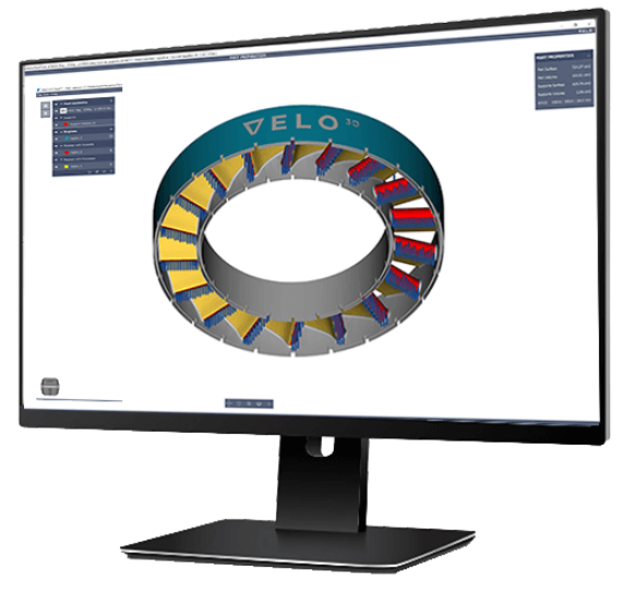 Velvo 3D software